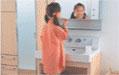 洗面室の活用例1