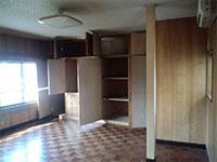 二世帯住宅施工例 リフォーム前:寝室