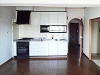 リフォーム前:システムキッチン写真
