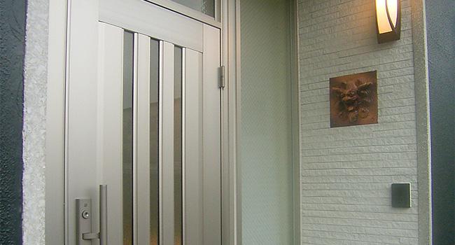 リフォーム後の玄関写真
