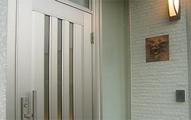 玄関は間接照明スタイリッシュにリフォーム後画像