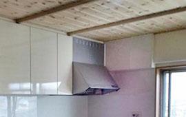 天井と壁を『無垢』に!落ち着きのある空間へリフォーム後画像