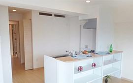 賃貸マンション2部屋をニーズのあった間取りへリフォーム後画像
