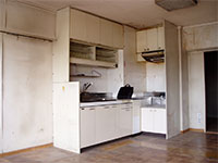 リフォーム後のキッチン