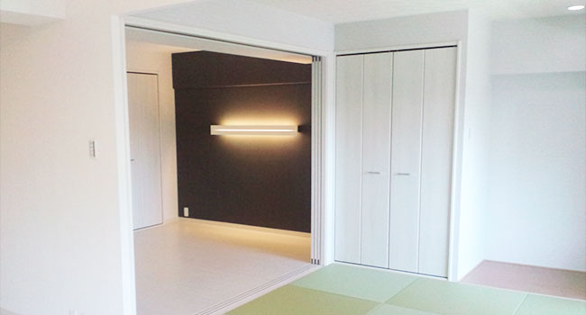 リフォーム後:寝室・和室の写真