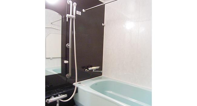 リフォーム後の浴室。一坪サイズに変更